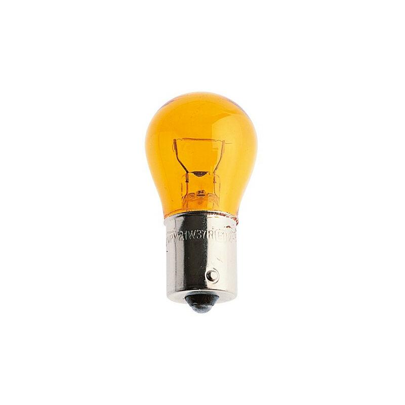 Ampoule STOP 12V 21W AMBRE (par 10)