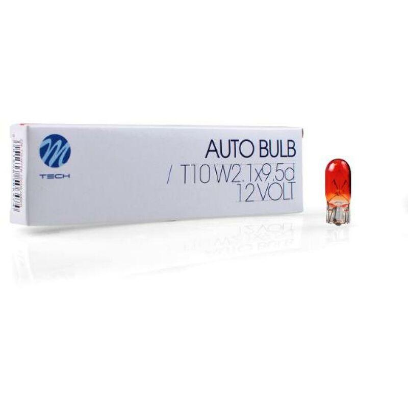Ampoule T10 Wy5w 12v Ambre -BOITE De 10-