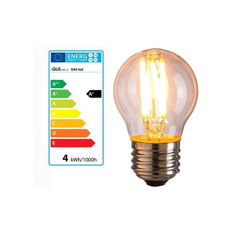 E27 Ampoule Style 4w À Qrdcxewboe Bulb G45 Vintage Led Edison gbfvYy76