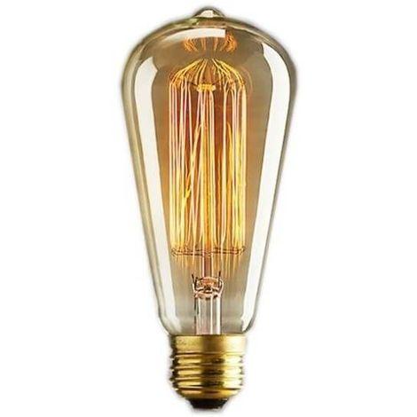 Ampoule vintage bulb Edison E14 ST48 - 6 filaments 11 x 5 cm 40W