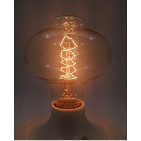 Ampoule vintage E27 filaments apparents bulb Edison BR85