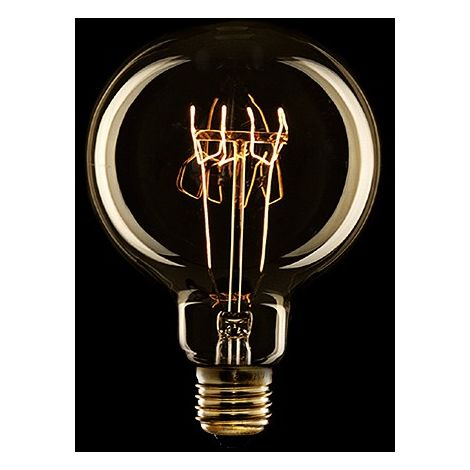 Ampoule Vintage Egloo Espiral E27 G95 25W   Blanc chaud (AM-AV951)