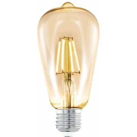 Ampoule vintage st64 led filament e27 4 220