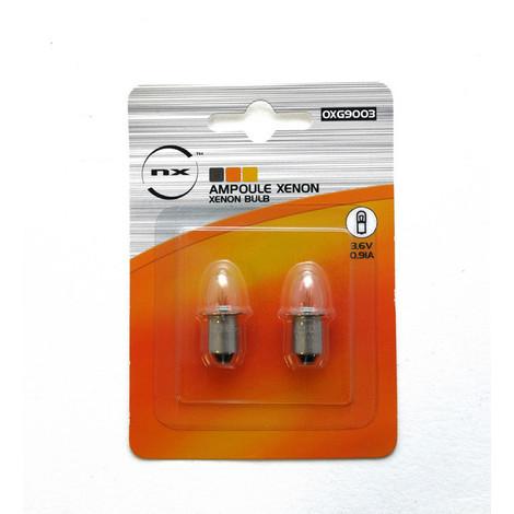 Ampoule xénon 3.6V 0.91A pour ETX9010