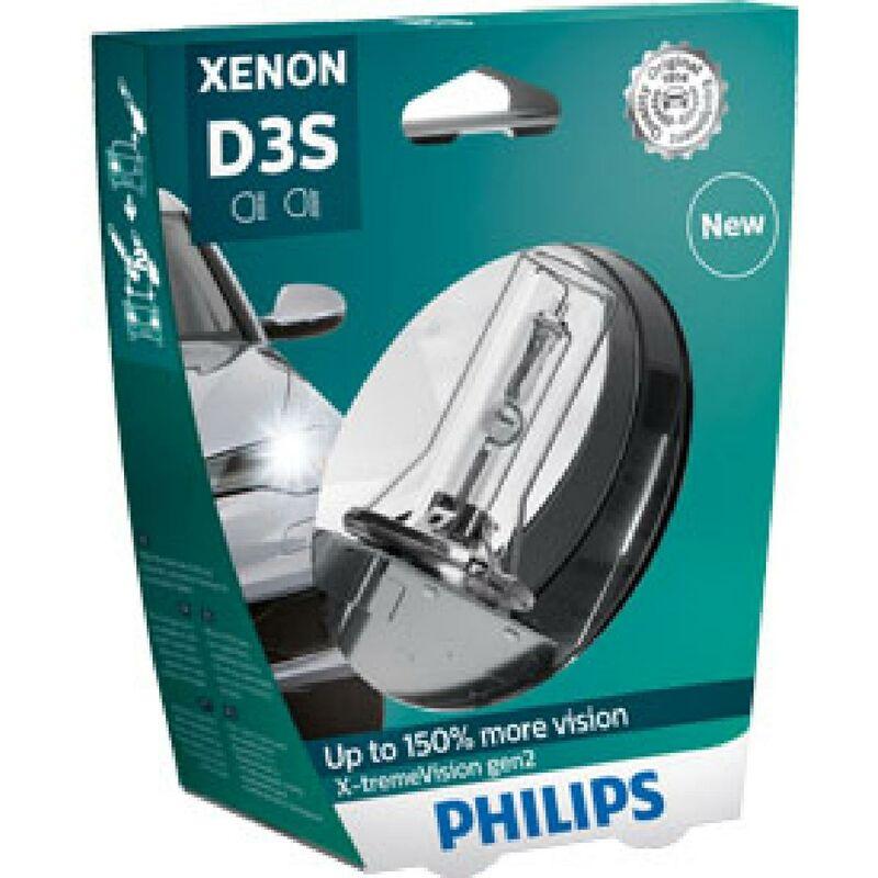 1 ampoule Xenon D3S Xtrem Vision Gen2 12V