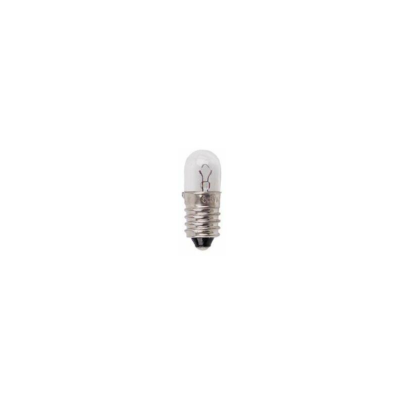 Thsinde - ampoules à vis miniature E10 12 V T10x28 Blanc chaud, 12V 0.1A (1.2W), E10