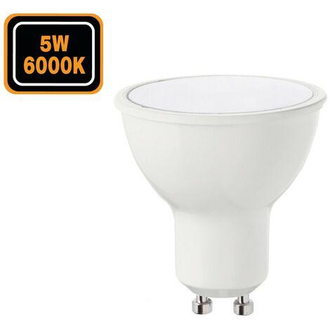 Ampoules GU10 5W eq. 50W Blanc Froid 6000k Haute Luminosité