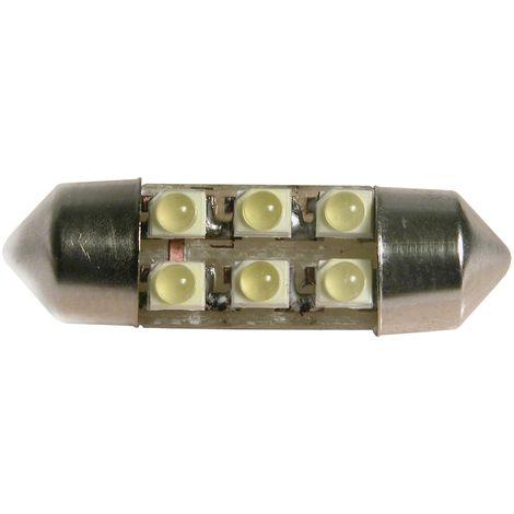 ampoules navette 31mm 6 SMD LED white 12V
