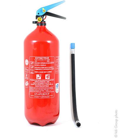 Anaf - Extincteur à eau avec additif 6L FS6-J