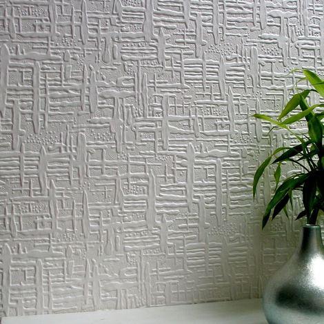 Paintable Wallpaper Textured Vinyl Luxury Embossed Durable Edward Anaglypta