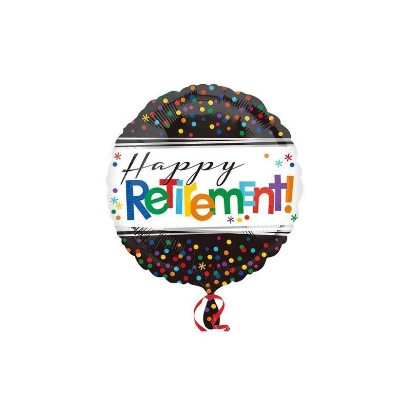 Image of 18 Inch Officially Retired Circle Foil Balloon (One Size) (May Vary) - Anagram