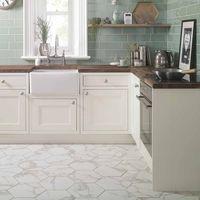 Anais White Hexagon Tiles - 330x285x9mm