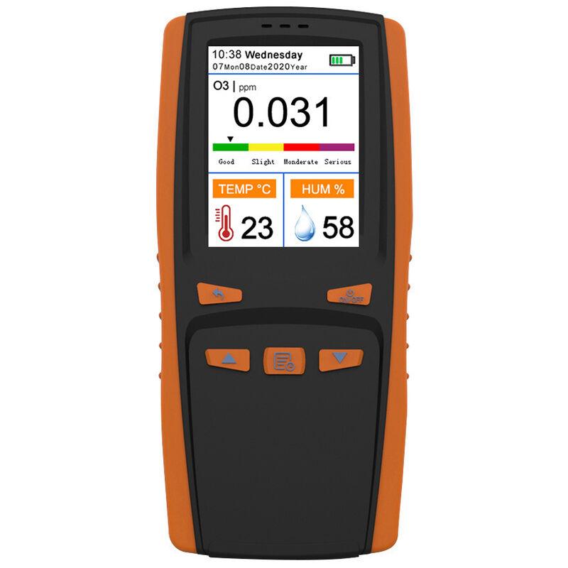 Happyshopping - Analizador de ozono portatil, detector de aire multifuncional con medidor de ozono O3