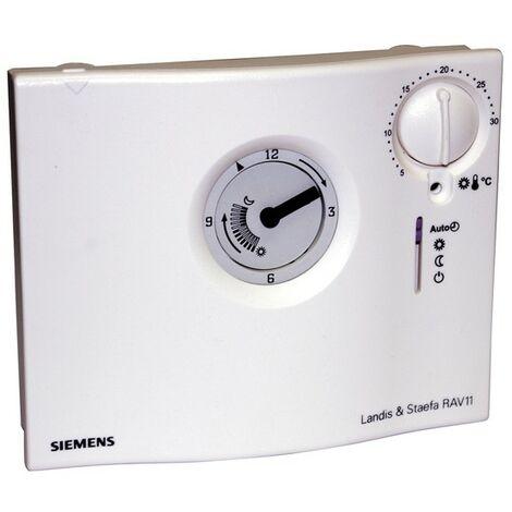 Analoger täglich programmierbarer Thermostat RAV 11.1 - SIEMENS : RAV11.1