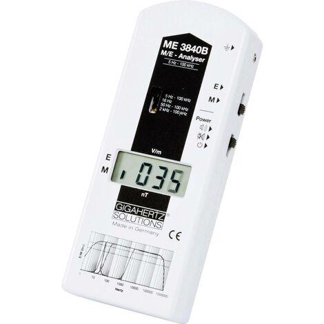 Analyseur basses fréquences ME 3840B Gigahertz Solutions