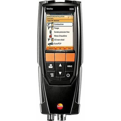 Analyseur de combustion Testo 320