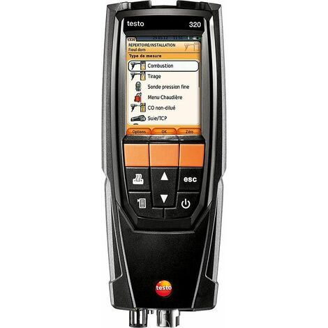 analyseur de combustion Testo 320 lot de base