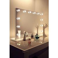 Anastasia White Hollywood Makeup Mirror with Warm White LED k313MWW