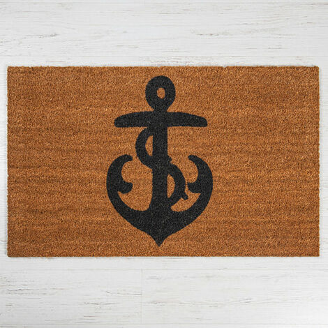Anchor Coir Door Mat - Large