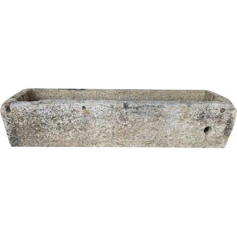Ancienne baignoire en pierre L190xPR58xH41 cm