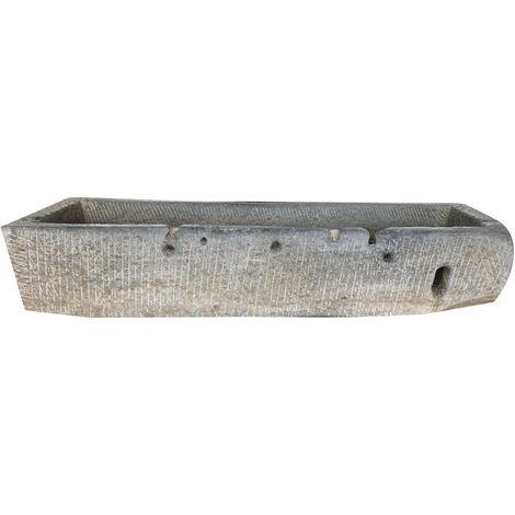Ancienne baignoire en pierre L193xPR60xH36 cm