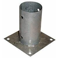 Anclaje galvanizado para Poste redondo diametro