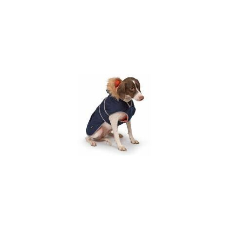 Ancol Parka Dog Coat Navy (388468)