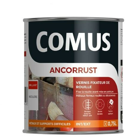 "main image of ""ANCORRUST - COMUS - Vernis fixateur de rouille"""