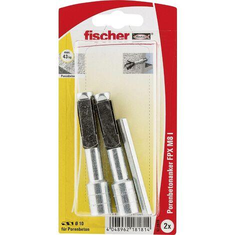 Ancrage pour béton cellulaire Fischer FPX-I M8 K 522829 75 mm 1 set