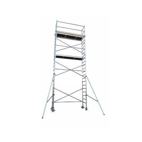 Andamio aluminio Torre BRICO 75X250