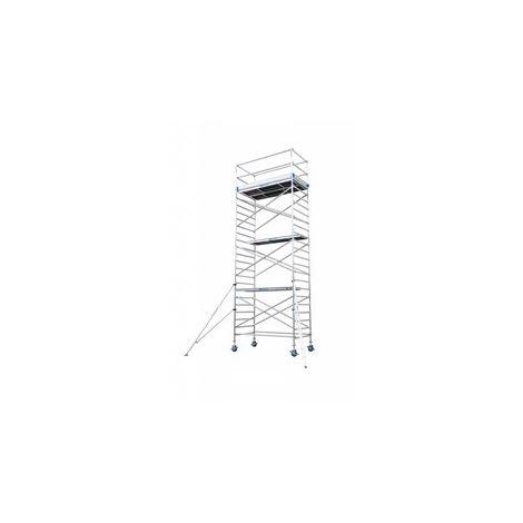 Andamio aluminio Torre PRO 135X250