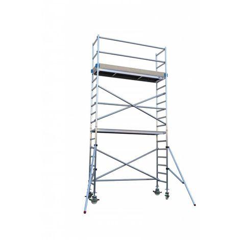 Andamio aluminio Torre PRO 75X250
