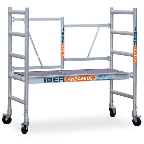 Andamio con ruedas plegable aluminio COMPACT IBERANDAMIOS