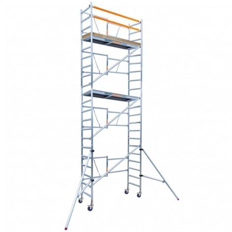Andamio plegable aluminio 90x190 con 7,50 metros altura de trabajo
