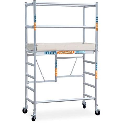 Andamio plegable aluminio COMPACT 1+2 IBERANDAMIOS