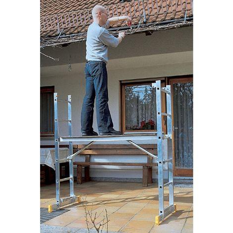 Andamios de escalera (andamio de bricolaje) 1,7 m