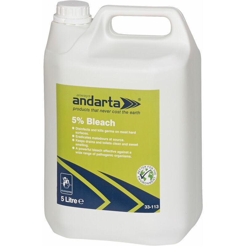 Image of 33-113 5% Bleach 5L - Andarta