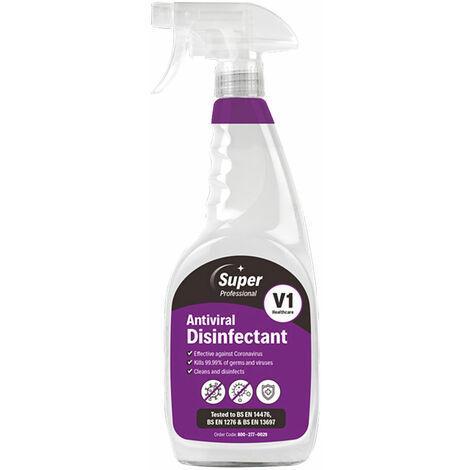 Andarta 33-455-A Super Professional Antiviral Disinfectant 750ml