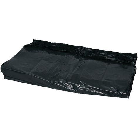 Andarta 35-032 457x735x960mm Medium Duty 120G Black Refuse Sack Pack 200