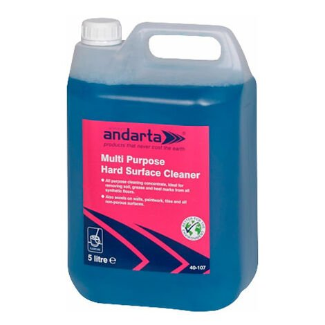 Andarta 40-107 Multi-Purpose Hard Surface Cleaner 5L