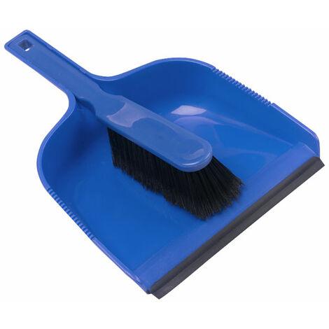 Andarta 41-165 Dustpan & Brush - Blue