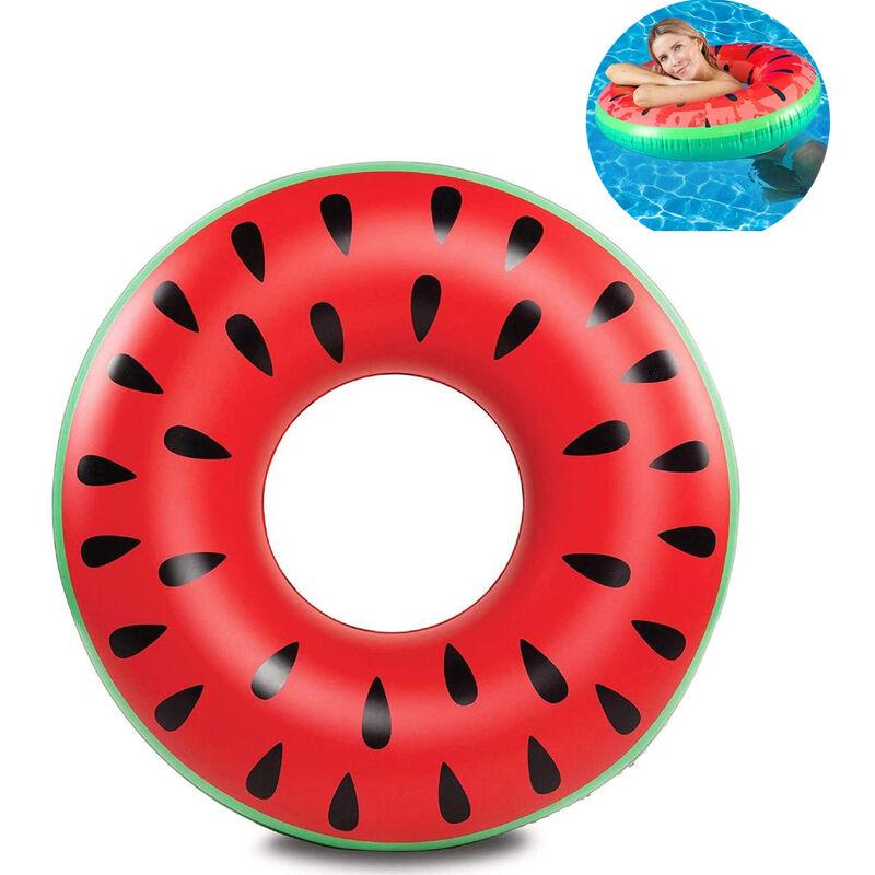 Image of Anello di nuotata per adulti Anello di nuotata Anello di nuotata con melone Anello di nuotata rosso Anello di nuotata Anello di acqua Materasso ad