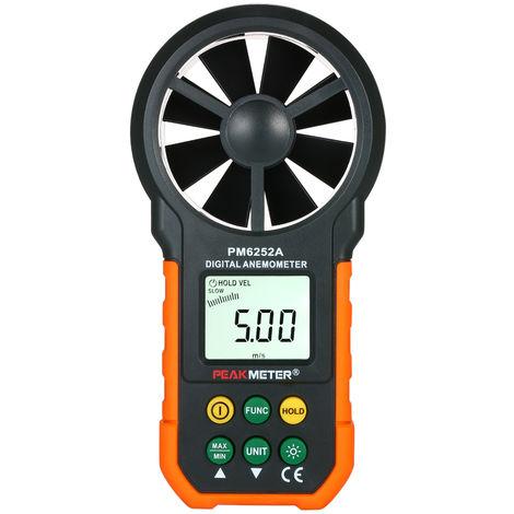 Anemometre Vitesse Du Vent Compteur Cfm Compteur Jauges Vent Debit D'Air Thermometre