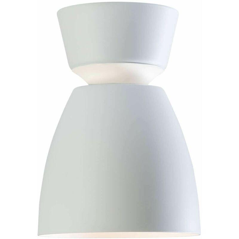 Image of ANEMON Ceiling Lamp in Metal and Matt White Diameter 16.2 Cm