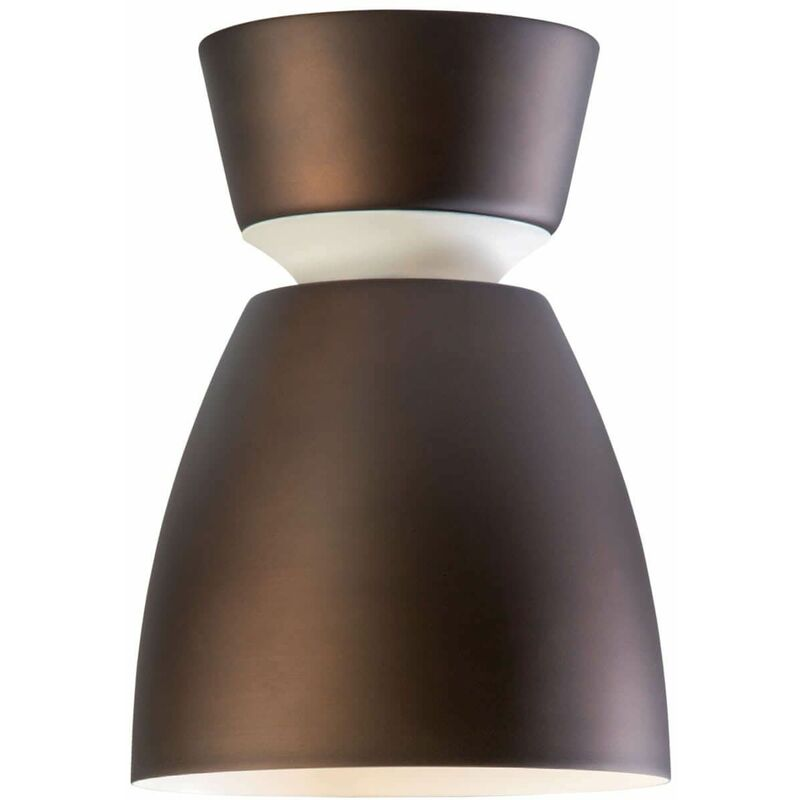 Image of ANEMON Ceiling Lamp in Metal and Oxidized Diameter 16.2 Cm