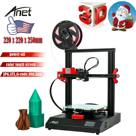 Anet ET4 Quick Assembly Touch Control 220 x 220 x 250mm 3D Printer