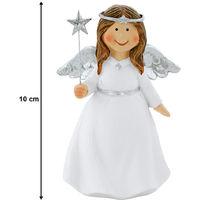 Ange de Noël avec étoile pour votre décoration d'hiver