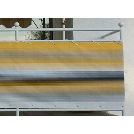 Angerer Brise-Vue Design No. 500 jaune, 75 cm, Longueur: 8 mètre