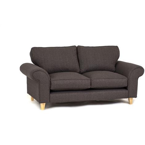 Angie 2 Seater - Dark Grey - color Dark Grey