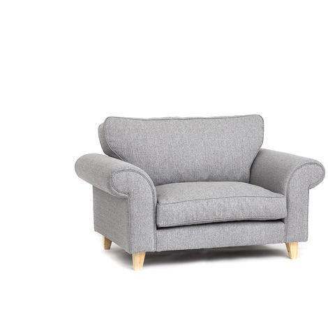 """main image of """"Angie Cuddle Chair - Light Grey - color Light Grey"""""""